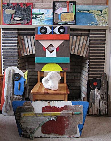 Normandie- Arbeiten von 2011, Jens Walko Kunst, walko-art