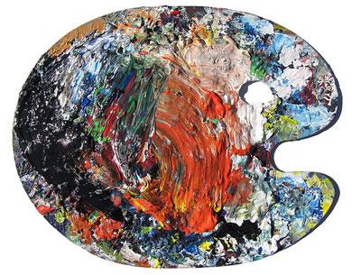 Palette, 2011, Jens Walko Kunst