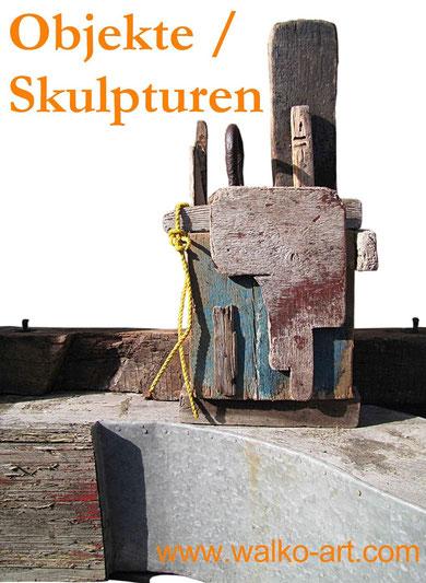 Objekte und Skulpturen, Jens Walko Kunst, walko-art, Waldenbuch