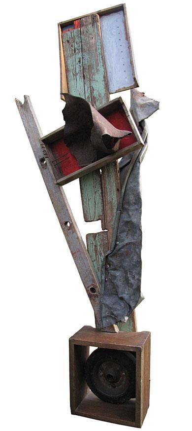 Der große Krieg ist vorbei, Objekt 2010, ca. 140cm, Jens Walko