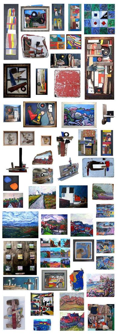 Ausstellung 2011, Jens Walko Kunst, Seetrif(f)t Waldenbuch