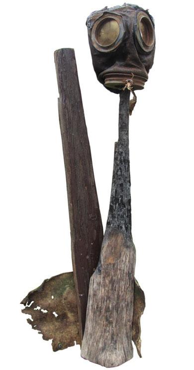 Gas ! Gaz ! - Objekt 2011, 75cm,Jens Walko Kunst, Walko-art