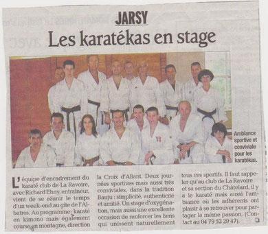 stage à jarsy 25/09/2010