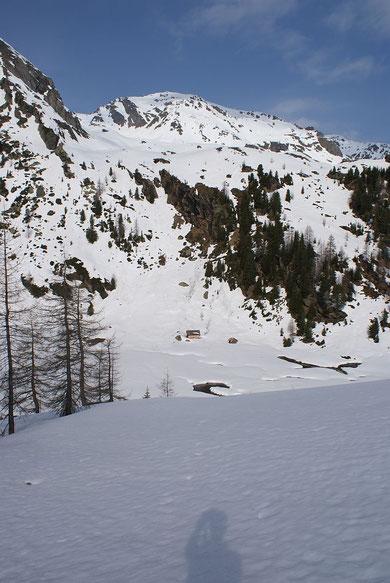 Almhütte in der Tresdorfer Wölla