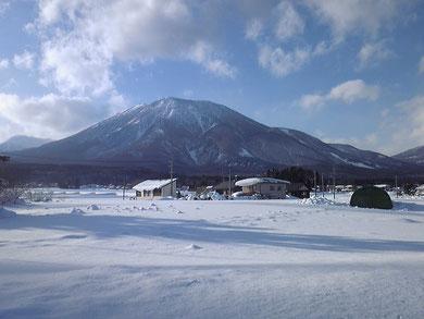 黒姫山 バックカントリー