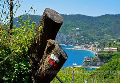 Monterosso al Mar par le sentier  Cinque Terre Italie