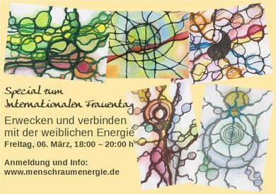 weibliche Energie Neurographik Susanne Knorr