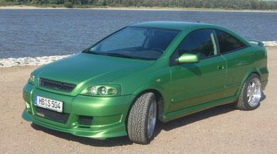Astra Coupe - Verde Grün