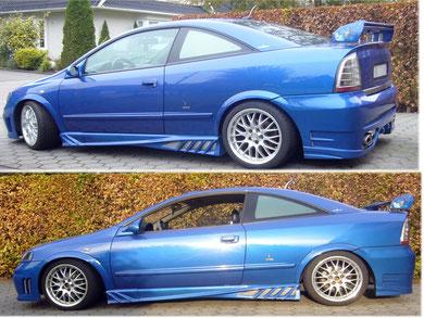Astra Coupe - Europablau