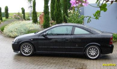 Astra Coupe - Schwarz