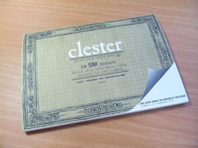 購入アイテムのクレスター水彩紙です。
