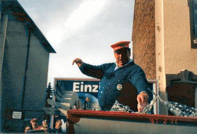 Heinz Willi Odenthal, Zugleitung