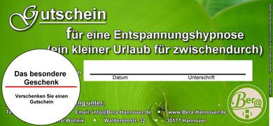 Geschenk Gutschein Hannover