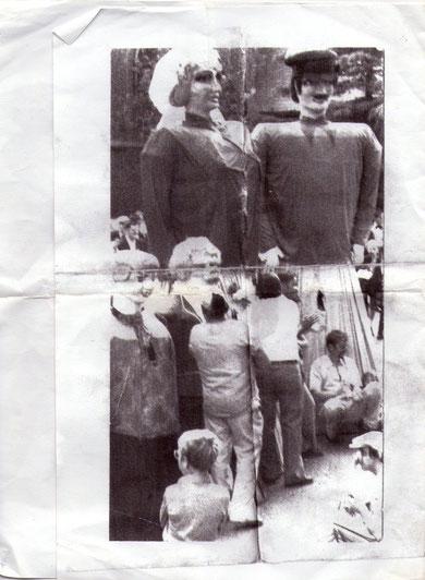 Mariage de Zante et Rinette en 1978