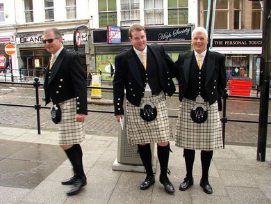 Kilts in Edinburgh