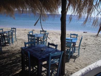 Strand westl. von Patras, ca. 60 km von Kerinia