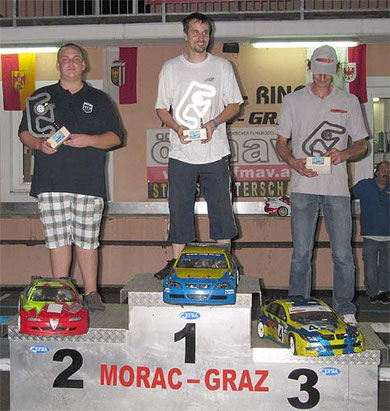 Sieger Andreas Haslinger MACG Stmk., 2ter Sacha Klug MRC Frühwirth 3ter Rudi Zitz MORAC-Graz