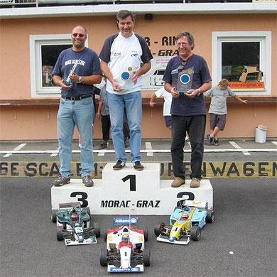 EFRA Grand Prix  FORMULA 5. SEPT. 2004 STÖHR - RING Kirchberg/Raab