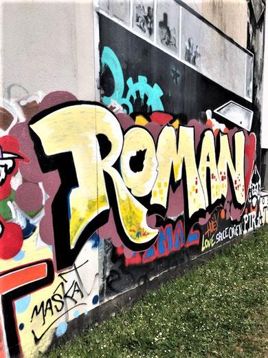 Derrière l'atelier de Roman Gorski - Auteur inconnu