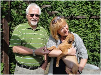 Simba hat ihr Zuhause bei Familie Peffgen in Köln gefunden