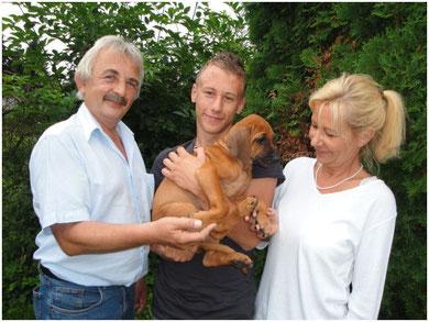 Fumo lebt nun bei Familie Ernst in Rheinmünster