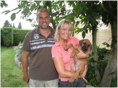 Nuru wohnt nun bei Familie Stadter in Siegen