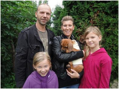 Imani wohnt nun bei Familie Weber in Niederzier bei Düren