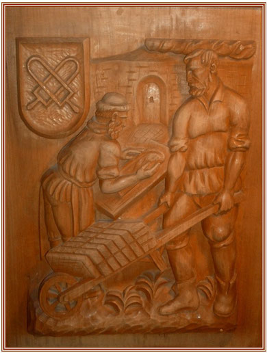 ..Keramikmacher, Holzschnitt