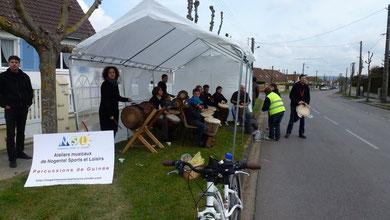 NSL Ecole de Musique atelier djembé  a participé au semi 2012