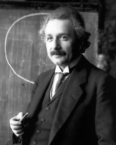 Albert Einstein, 1921, (c) gemeinfrei