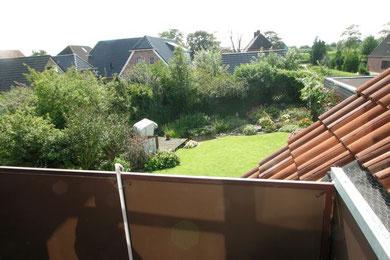 Ihr Balkon mit Blick in den Garten