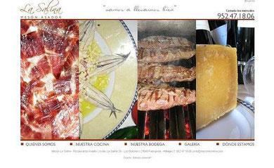 Avda. La Salina 28 - Los Boliches | 29640 Fuengirola - Málaga | T. 952 47 18 06 | info@mesonlasalina.com