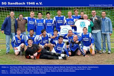 Meistermannschaft 05/06