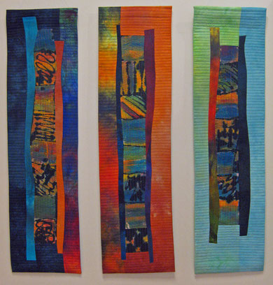 """""""Triptichon"""" 3 x  30 x 120 cm"""