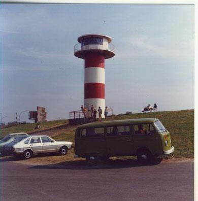 VW Bus T2 geliehen und das Cuxhavener Umland erkundet