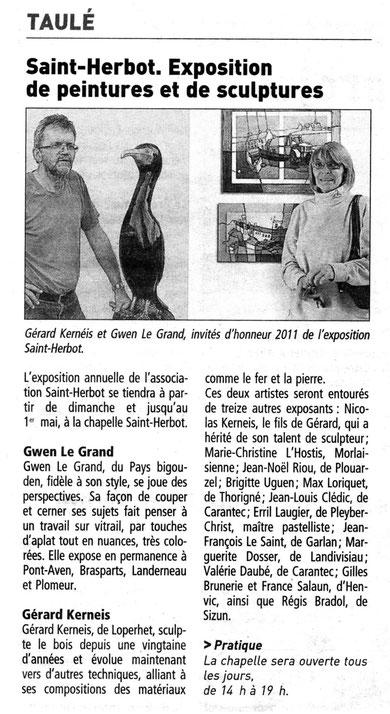 Gérard KERNEIS et Gwen LE GRAND