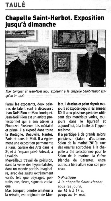 Max LORIQUET et Jean-Noël RIOU