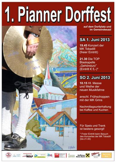Plakat Dorffest