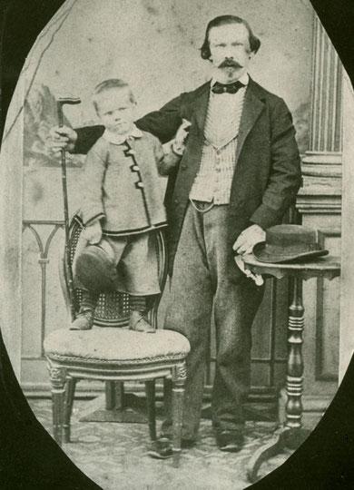 Samuel mit Sohn Samuel Junior (~1862)
