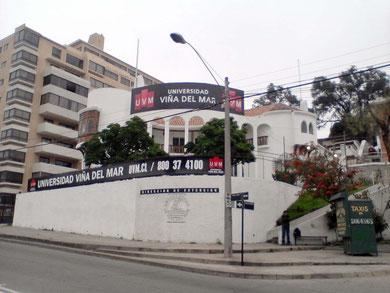 SEDE UNIVERSIDAD VIÑA DEL MAR - AGUA SANTA-VIÑA