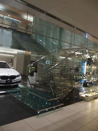 Scala Regale - Showroom BMW di Tokyo