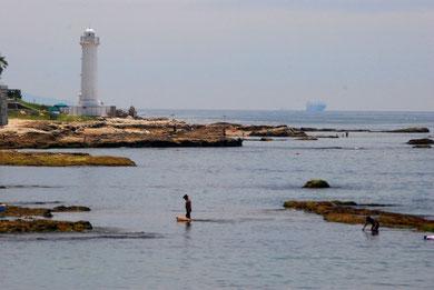 波間でのお散歩 photo by 白鳥保美