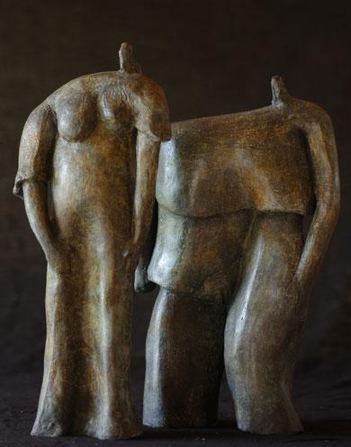 sculpture en bronze fondue à la cire perdue, Fonderie des Cyclopes, Mérignac Bordeaux Gironde