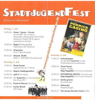 Programm am Stadtjugendfest