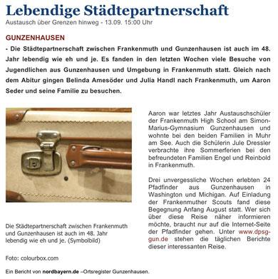 Nordbayern.de vom 13.09.2010