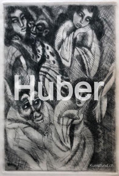 Hermann Huber Grafiken