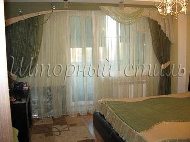 шторы для спальной