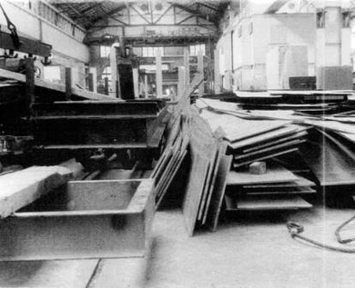 L'atelier où a eu lieu l'accident - Coll Pontin