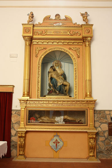 Panorámica del retablo.
