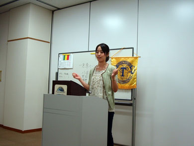 市川スマイルトーストマスターズクラブ 第69回例会写真 6